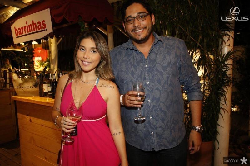 Samea Blum e Erivelton Oliveira