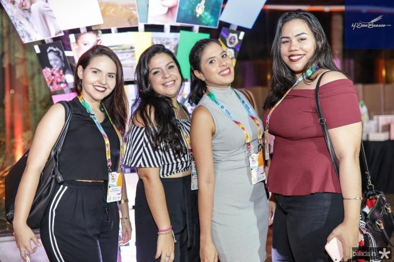 Mayara Moura, Camila Matias, Liviane Teles e Yasmin Holanda