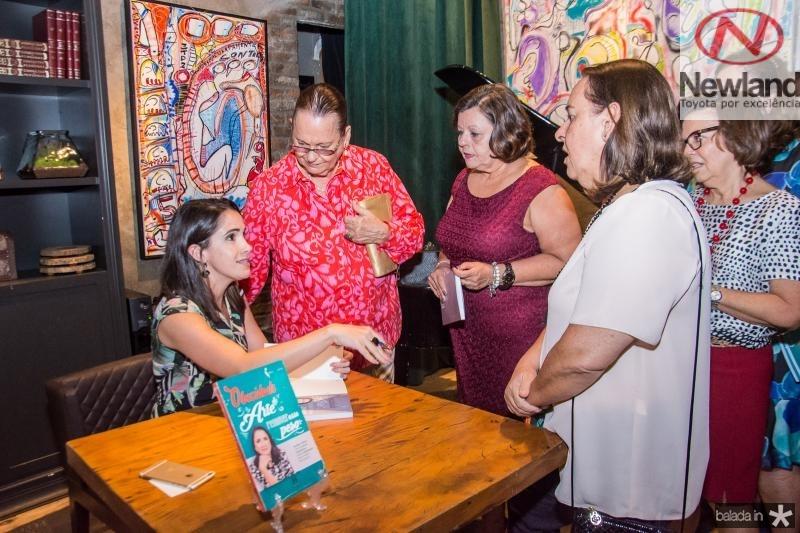 Lia Lima, Terry Araujo, Anamaria Lima e Carla Araujo