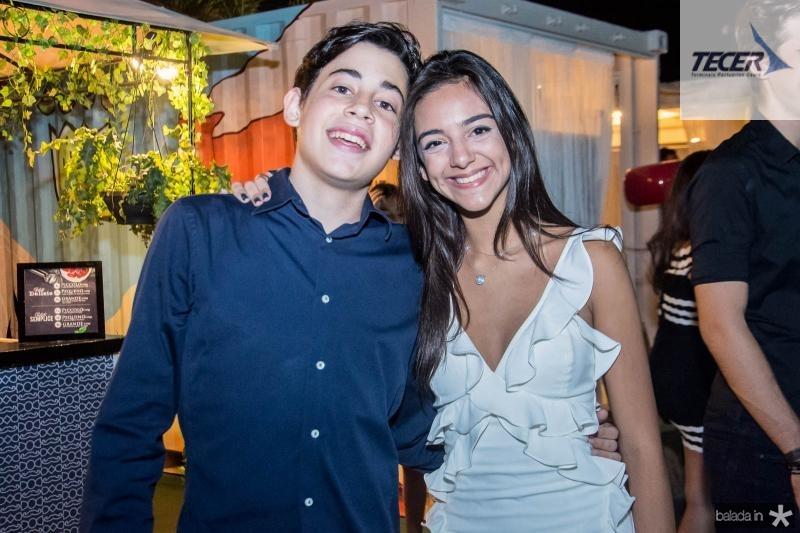 Matheus Lima e Giulia Frota