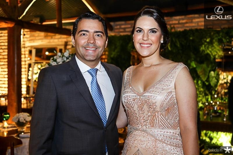 Andre e Larissa Laprovitera