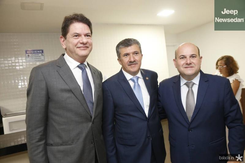 Cid Gomes, Antonio Henrique e Roberto Claudio 1