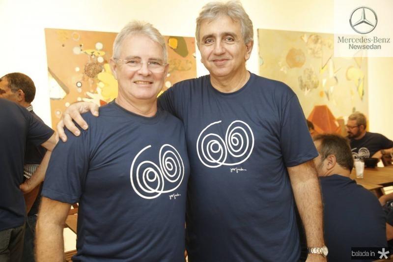 Claudio Coutinho e Joao Jose