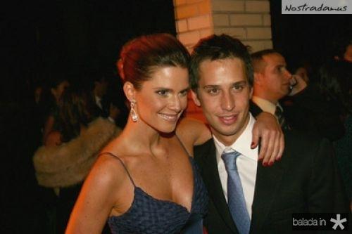 Mariana Kupfer e Caio Fischer