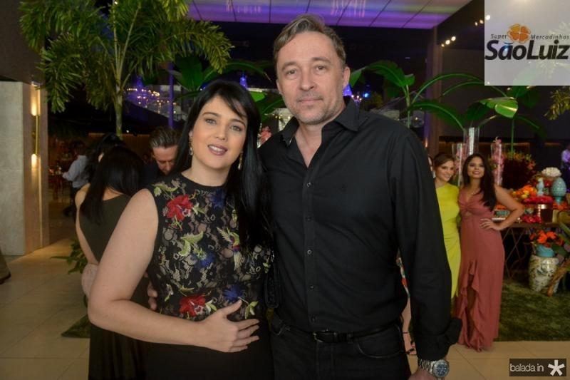 Carla e Marcos Moraes