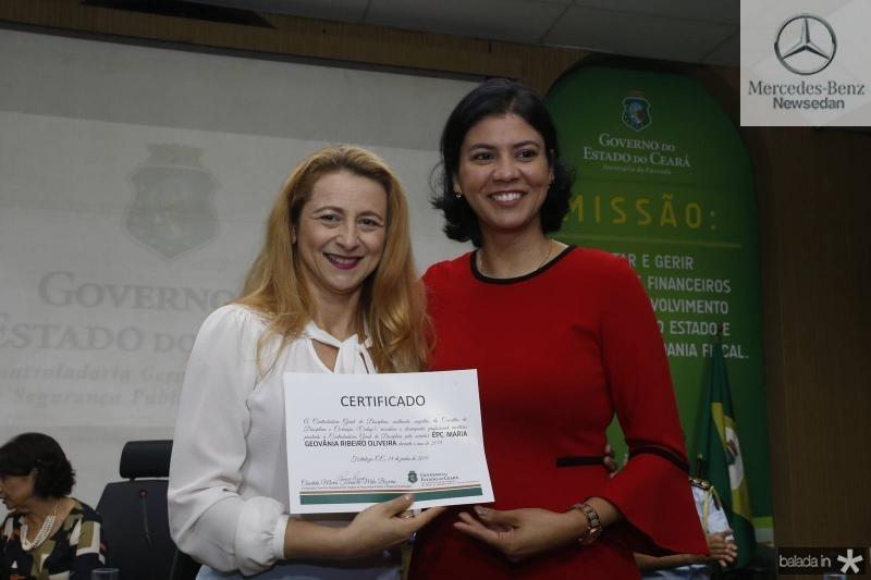 Simone Ribeiro e Reny Sales