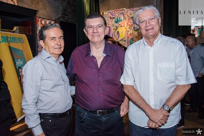 Eduardo Vilar, Cesar Cals e Joaquim Rolim