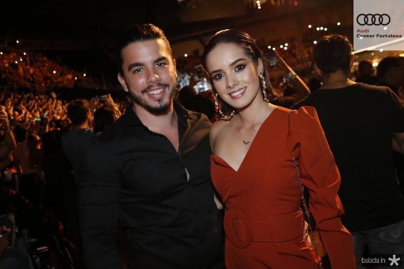 Alvaro Chaves e Georrane Freitas