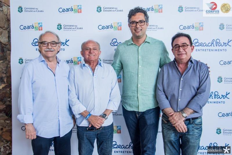 Ednilton Soarez, Edson Sa, Murilo Pascoal e Manoel Linhares
