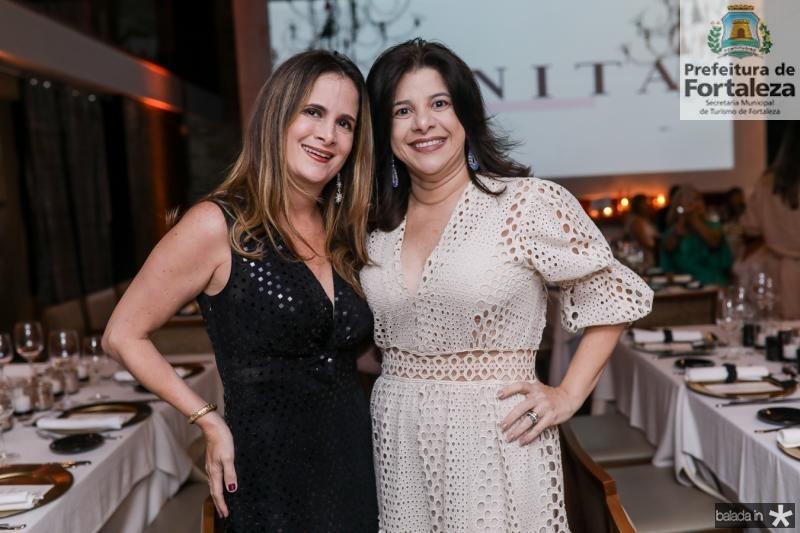 Adriana Bezerra e Luciana Lobo