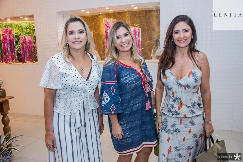 Lia Nobrega, Mirna Nobrega e Luciana Cidrao