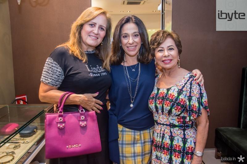 Solange Bessa, Roberta Saad e Tane Albuquerque