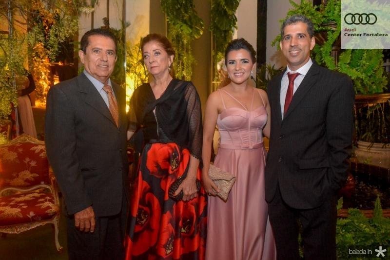 Ricardo Silveira, Cilene Aguiar, Ana Mara e Ticiano Aguiar