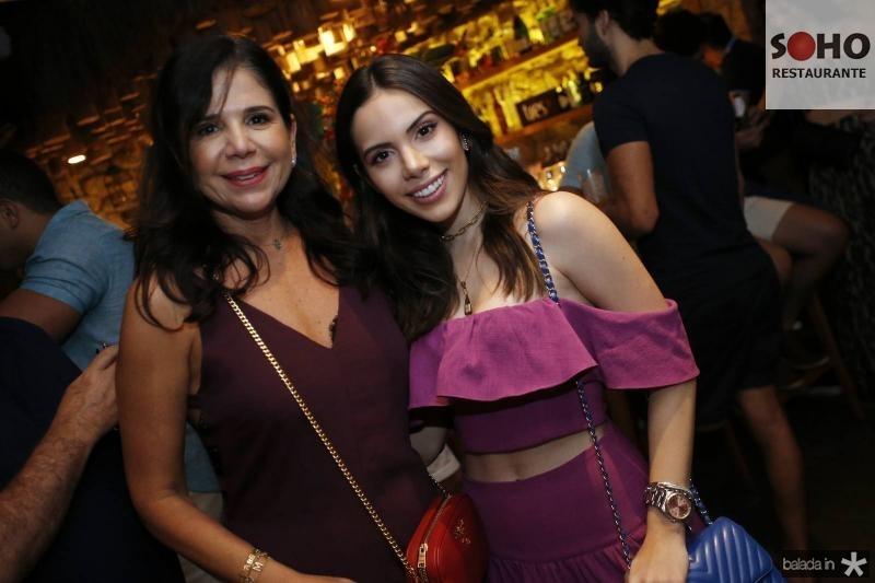 Maria Lucia Carapeba e Nicole Vasconcelos