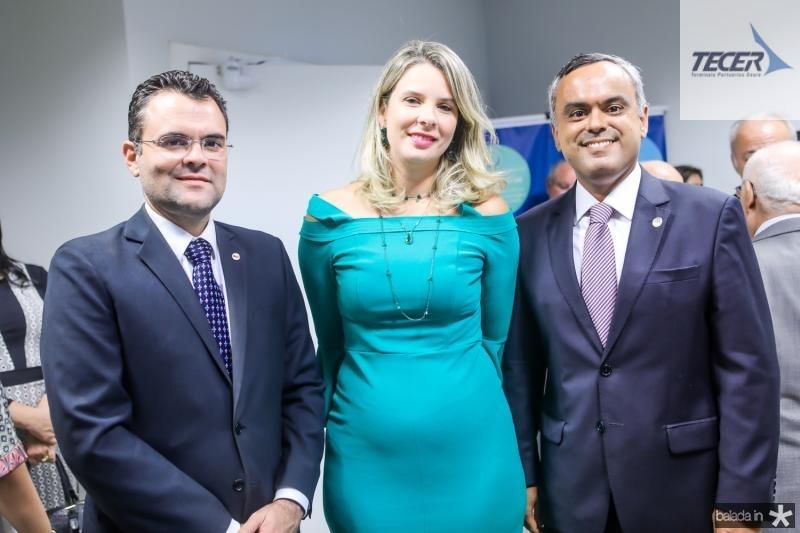 Rodrigo Costa, Mariana Lobo e Marcelo Mota