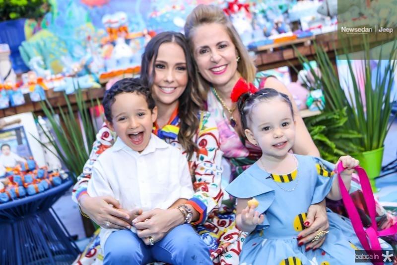 Lucca e Rafaela Asfor, Tereza Ximenes e Bia Asfor