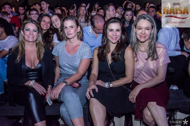 Tatiana Luna, Elen Tigre, Laura Juca e Erika Markan