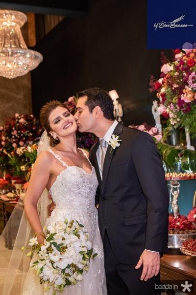 Jose Carlos e Isabele Studart