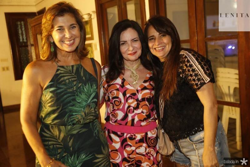 Jacqueline de Deus, Ieda Cavalcante e Silvia Chacon