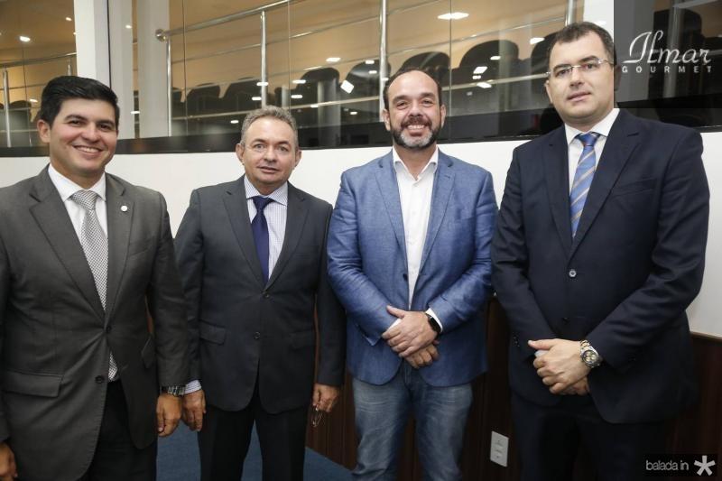Daniel Aragao , Junior Bonfim, Waldir Xavier e David Peixoto