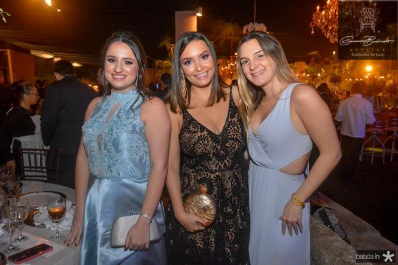 Ana Emidia, Zaira Rocha e Jessica Adolfo