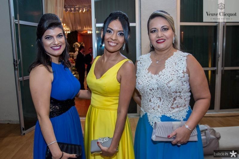 Luiza Angelim, Anelise de Oliveira e Cleinice Bela
