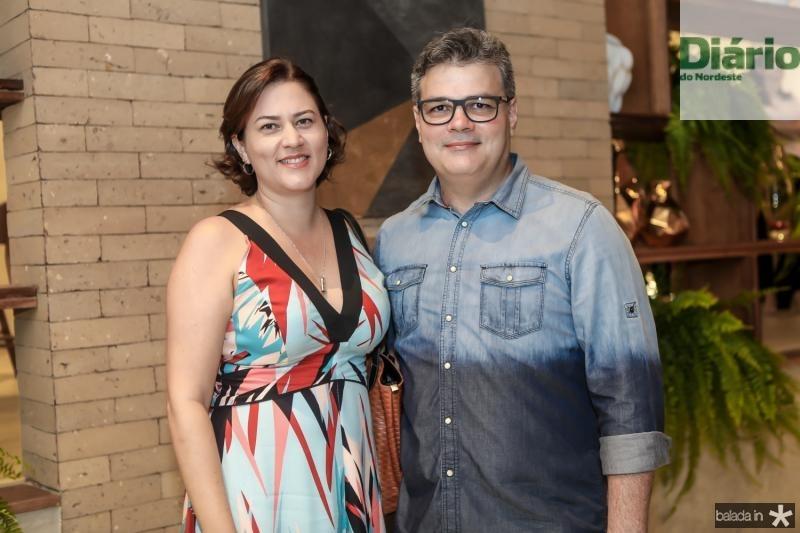 Tatiana Melo e Henrique Cisne