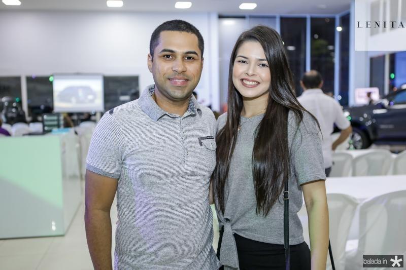 Rafael Lopes e Rafaele Rodrigues