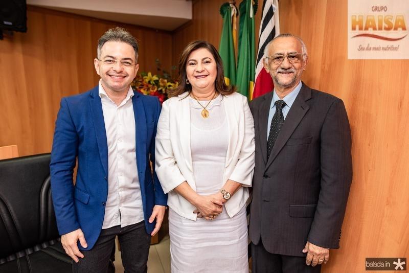 Mercinho Goncalves, Natercia Campos e Pastor Dalmacio