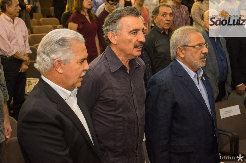 Pio Rodrigues, Artur Bruno e Assis Araripe