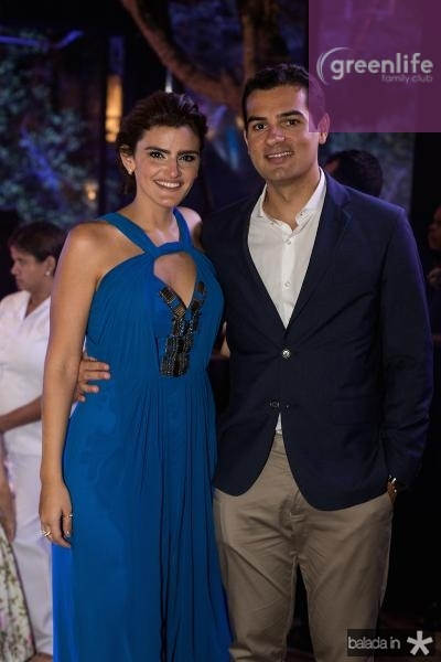 Isabela Studart e Jose Carlos Machado