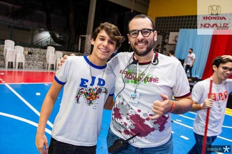Lucas Sales e Rodrigo Aguiar