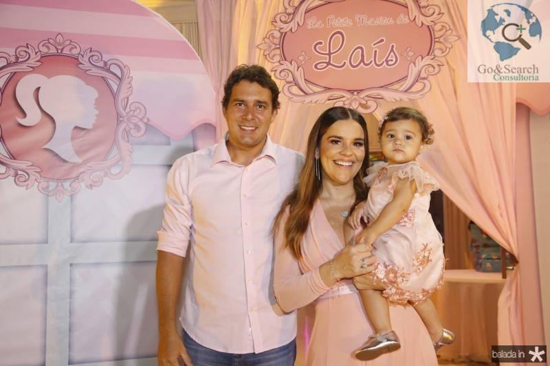 Renato, Lais e Ana Paula Domene Soares