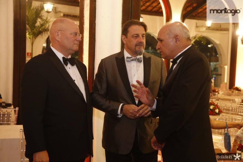 Marco Suiço, Vitorio Guia e Licinio Correa 2