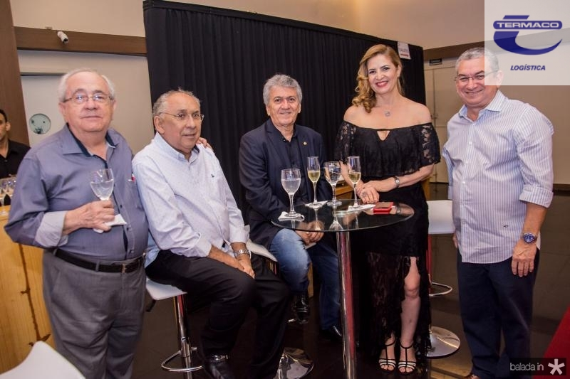 Eduardo Bezerra, Luis Carlos Correa, Clovis Nogueira, Enid Camara e Marcelo Maranhao