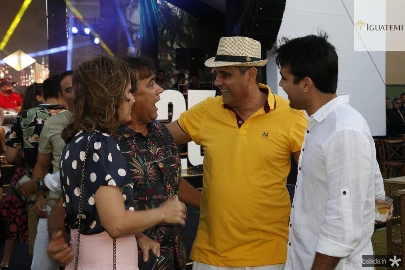 Daniela e Gilberto Costa, Andre Vercosa e Cabral Neto 1