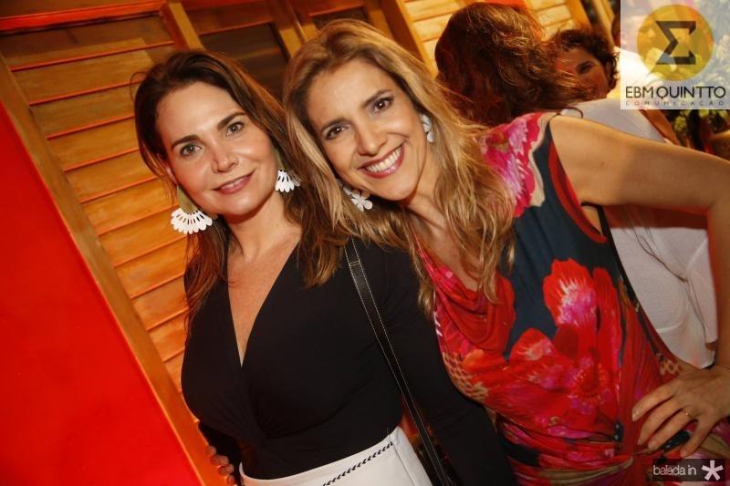 Joyce Marconi e Eliziana Colares