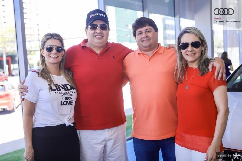 Tatiana Luna, Marcos Dias Branco, George e Erica Lima