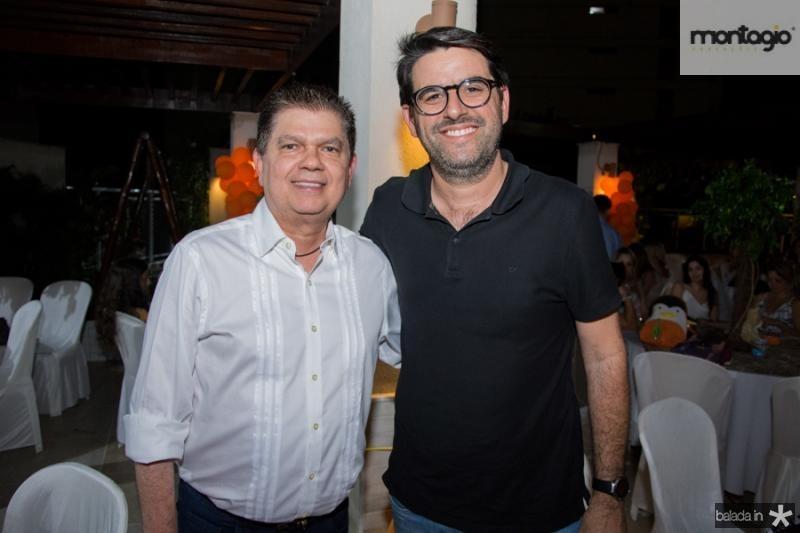 Mauro Filho Benevides e Ricardo Siqueira
