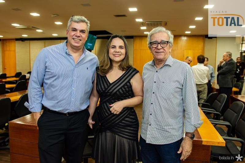 Rodrigo Macedo, Anne Macedo e Mino Castelo Branco