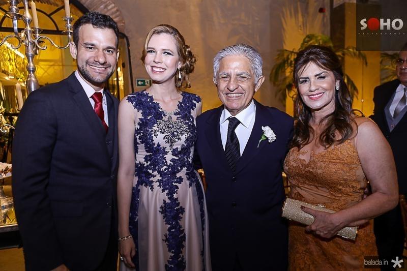 Fabio Cunha Pinto Coelho, Camila Neves Moreira, Otto e Guida Sa Cavalcante