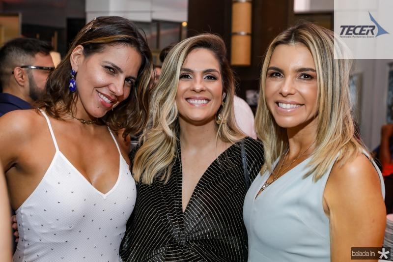 Ana Carolina Bezerra, Mariana Marinho e Liliana Rola