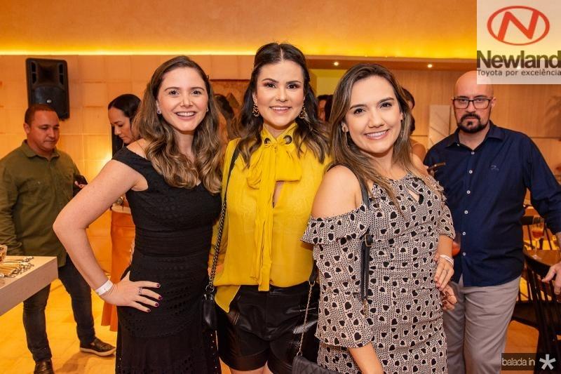 Vanessa Camara, Carine Moreira e Gabriela Portugal