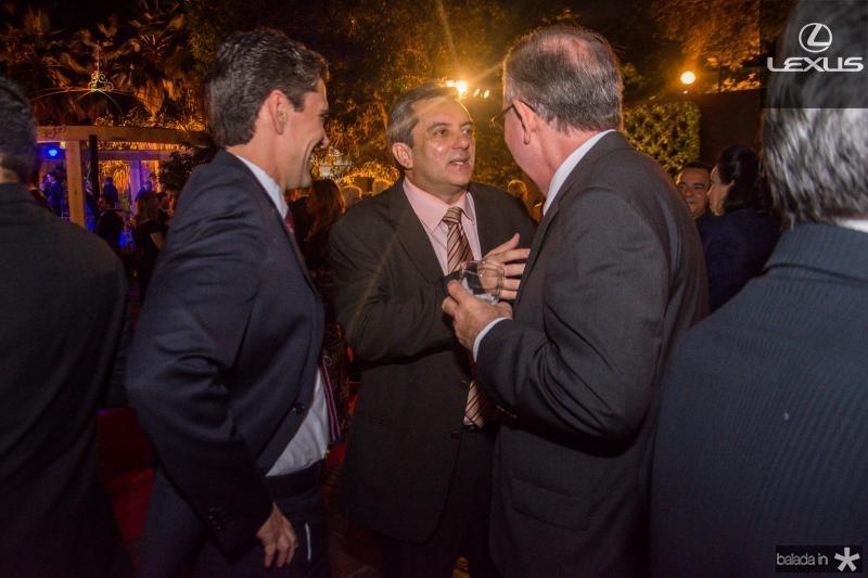 Rui do Ceara, Guedes Neto e Ricardo Cavalcante
