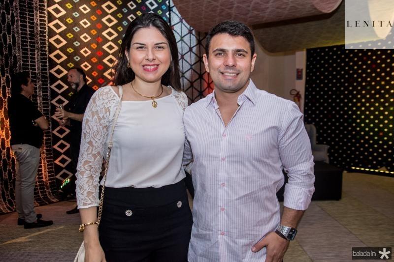 Taline Rabelo e Simon Rafaga