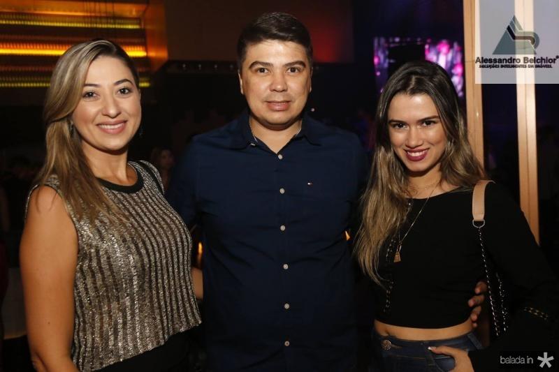Delmira e Eduardo Barreira e Tainan Pontes
