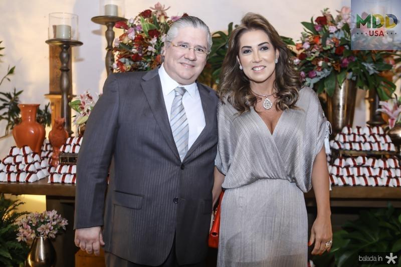 Cássio e Ana Vládia Sales