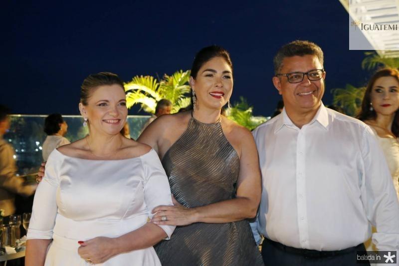 Grace Lifman, Izabela Fiuza e Flavio Lifman