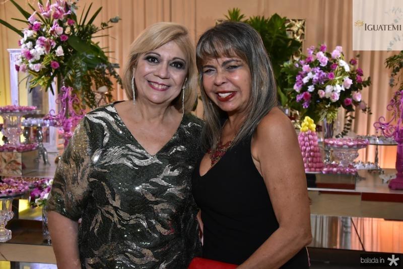 Priscila Cavalcanti e Selma Cabral