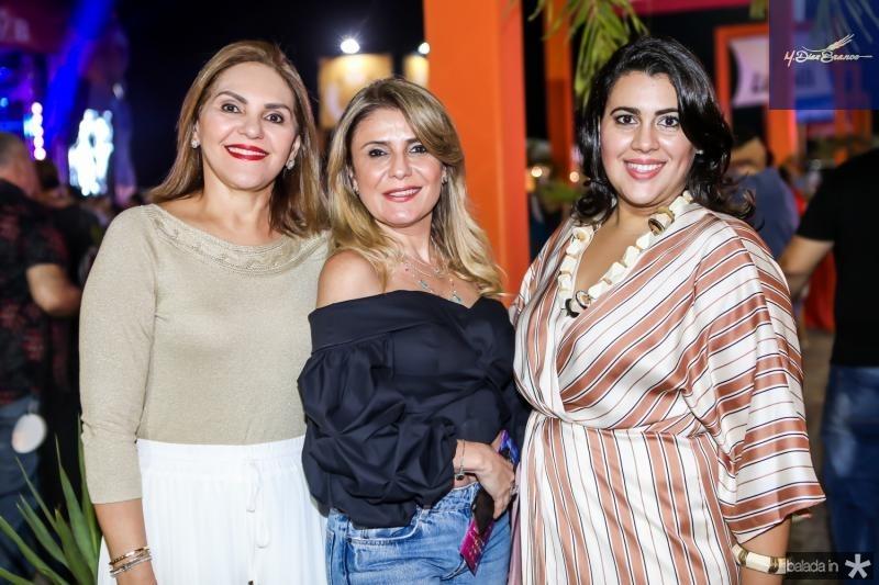 Denise Bastos, Adelia Albuquerque e Mirian Bastos